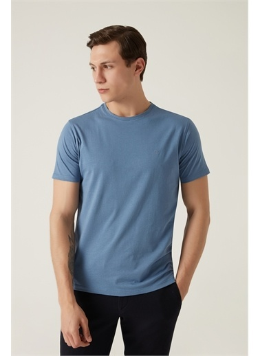 Damat Damat Haki T-Shirt Mavi